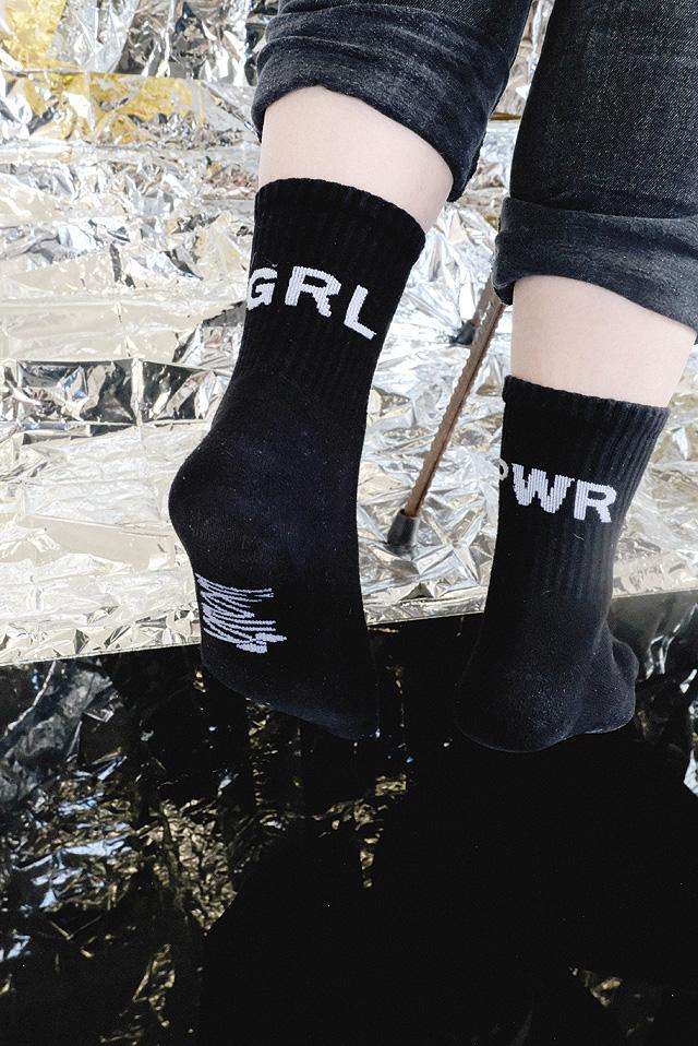 GRL PWR Socken
